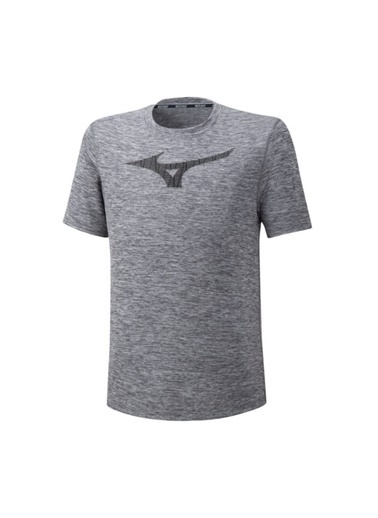 Mizuno Core Graphic Rb Tee Erkek T-Shirt Gri Gri